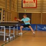 Melle in actie tijdens de wedstrijd tegen Emmen - foto Hennie Huttinga
